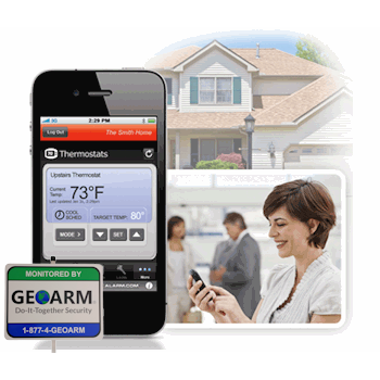 2GIG Alarm.com Residential Interactive Alarm Monitoring Services by GEOARM