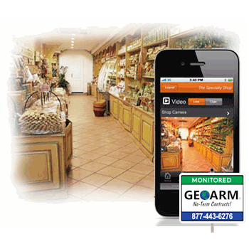 2GIG Alarm.com Commercial Interactive Alarm Monitoring Services by GEOARM