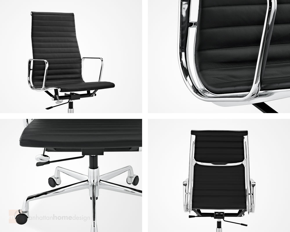 Eames Office Chair Replica | Ribbed Management Chair Features
