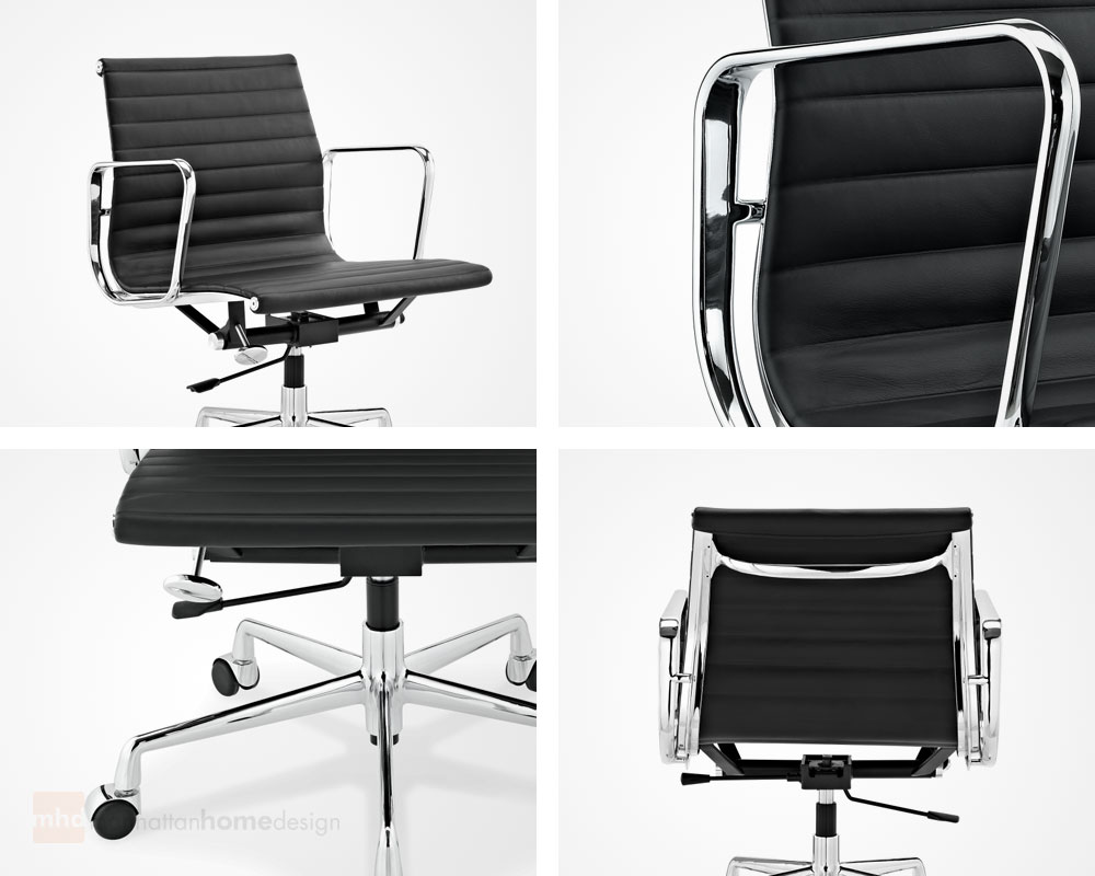 eames management chair eames ribbed office chair. Black Bedroom Furniture Sets. Home Design Ideas