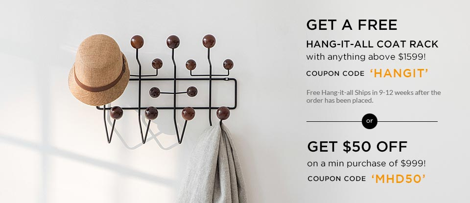 Free Hang-it-all Coat Rack