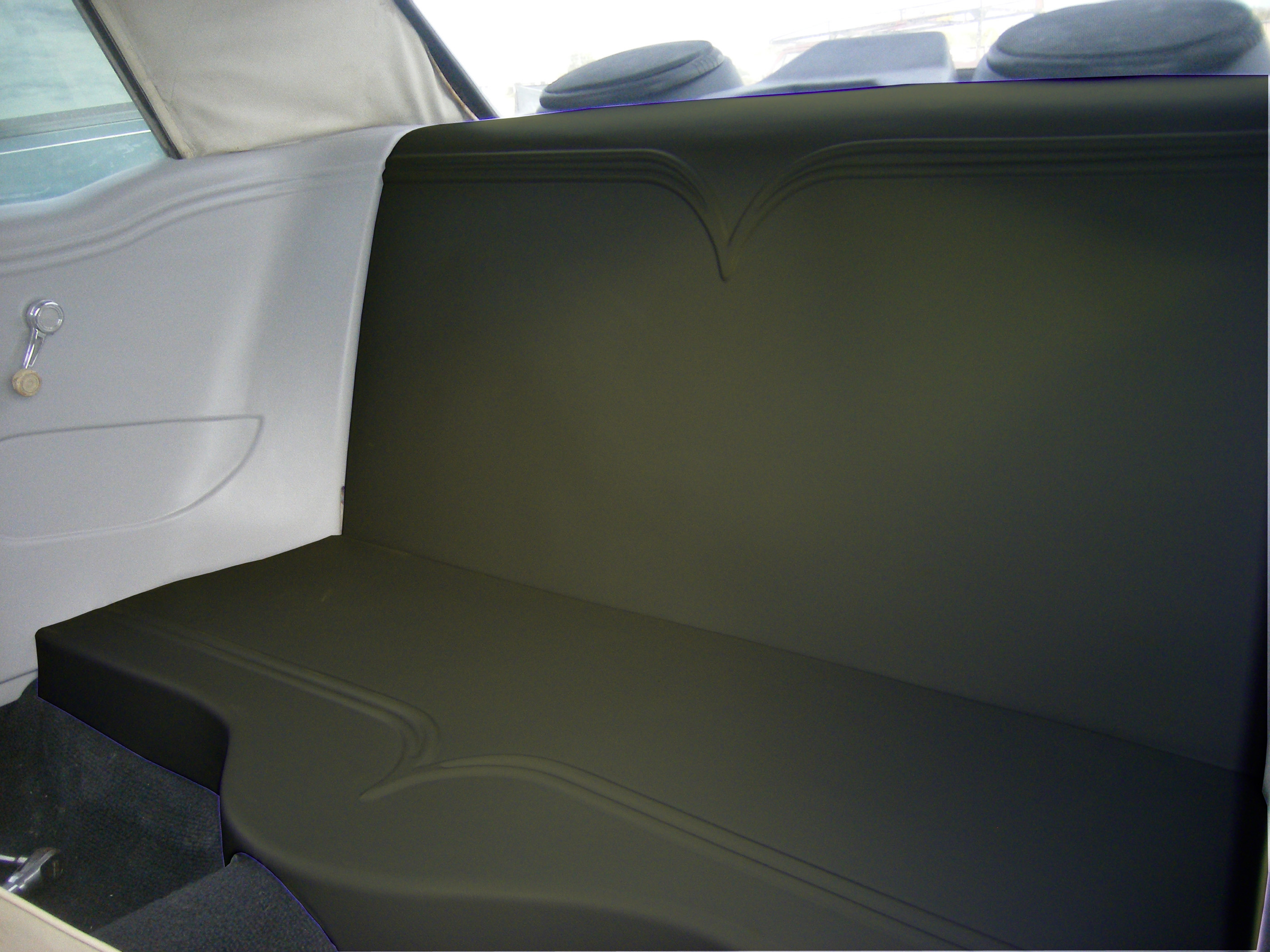 Mustang Coupe Back Seat Delete