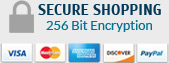 Secure Shopping 256 Bit Encryption