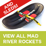 We have Mad River Rocket Sleds in Stock!