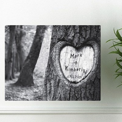 Tree of Love Canvas Print