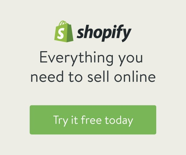 Click here to try Shopify for free!