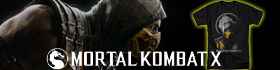 Check out our new Mortal Kombat X Tee shirts!