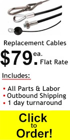 Replace your worn cable now!