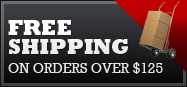 Free Shipping on orders over $125