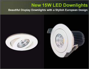 LED Downlights, 15W LED Display Downlight, LED Ceiling Lights