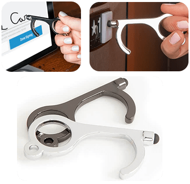 Touchless Door Opening Tool with Stylus