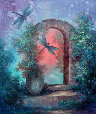 dragonfly-gate - Art by Griselda Tello