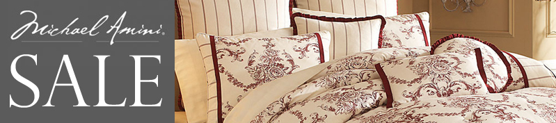 michael amini bedding sale