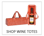 wine totes, wine bags and wine carriers, personalized wine tote