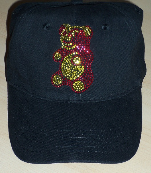 Gummy bear sparkle cap