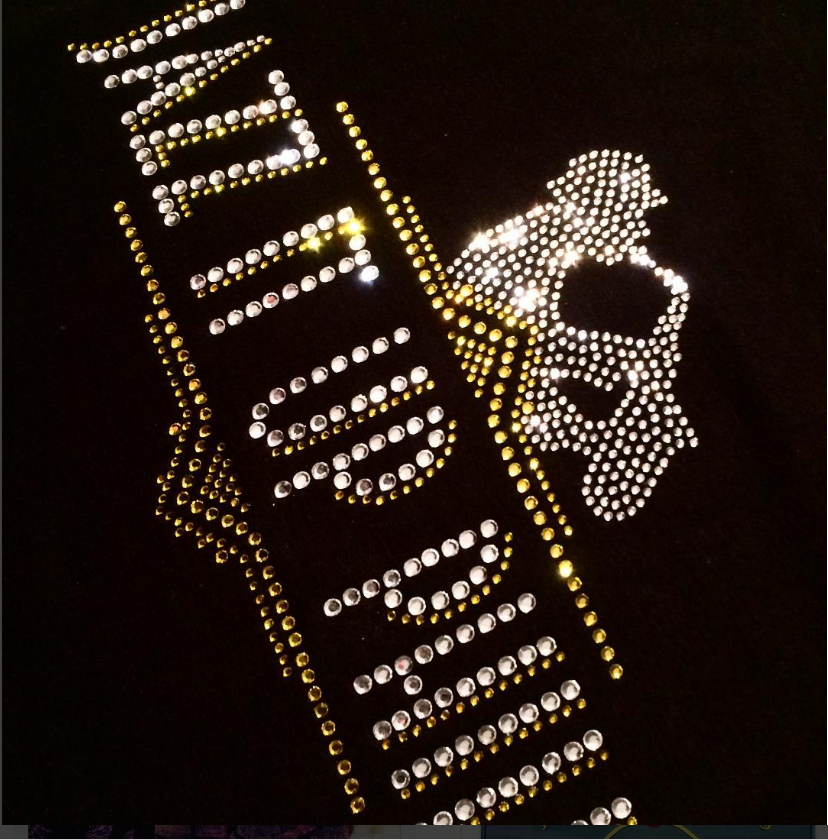 Jazz it up Philly Custom Rhinestone Shirt