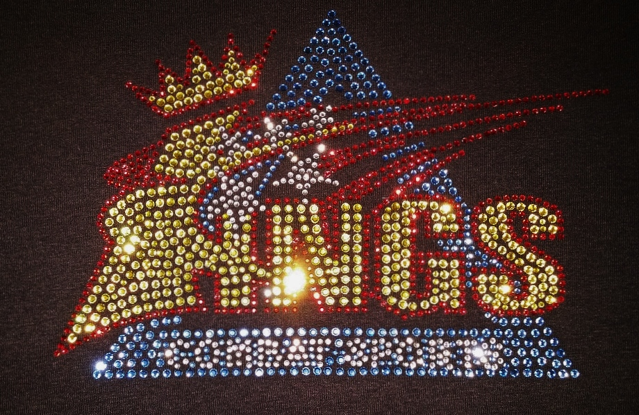 Kings Combat Sports sparkle bling