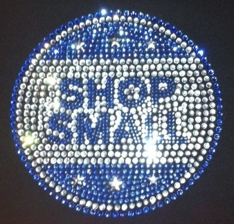 Shop Small Rhinestone custom apparel