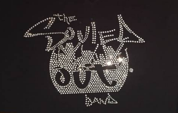 Souled Out Band custom rhinestone shirt