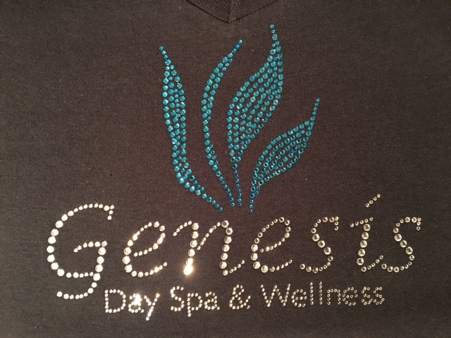spa rhinestone shirts