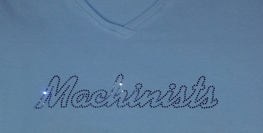 custom swarovski shirts