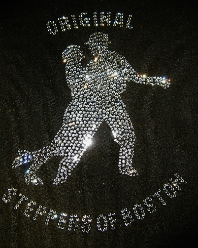 steppers custom rhinestone shirts