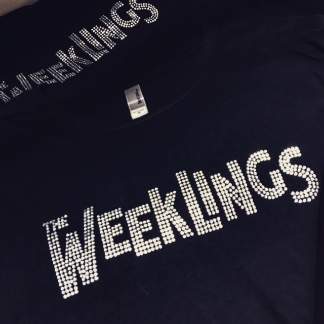 the weeklings rhinestone shirts