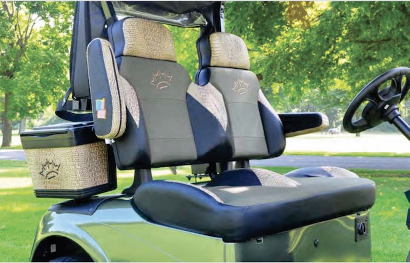 TOURING EDITION SEATS - Custom Golf Cart Seats on golf cart cover, golf cart floor mats, golf cart cargo boxes,