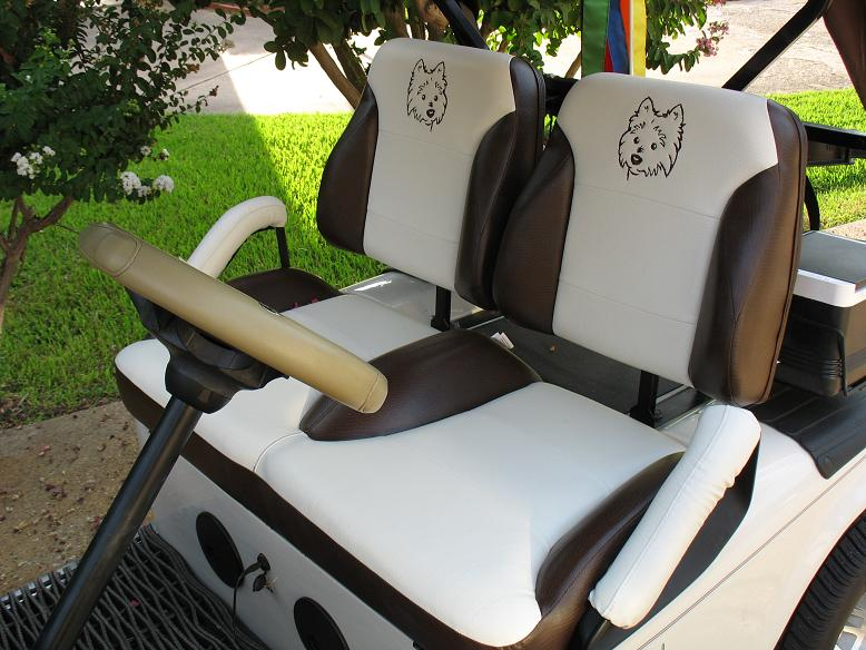 Original Suite Seats Custom Golf Cart Seats