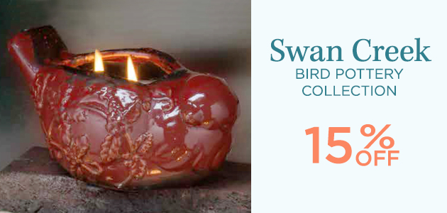 Swan Creek - Bird Pottery Collection - 15 Percent OFF