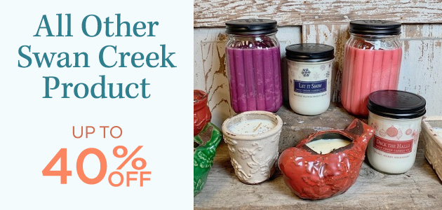 All Other Swan Creek Product - Up To 40 Percent OFF