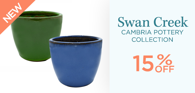 Swan Creek - Cambria Pottery Collection - 15 Percent OFF - NEW