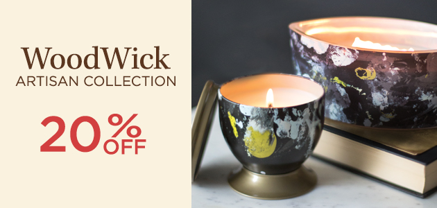 WoodWick - Artisan Collection - 20 Percent OFF