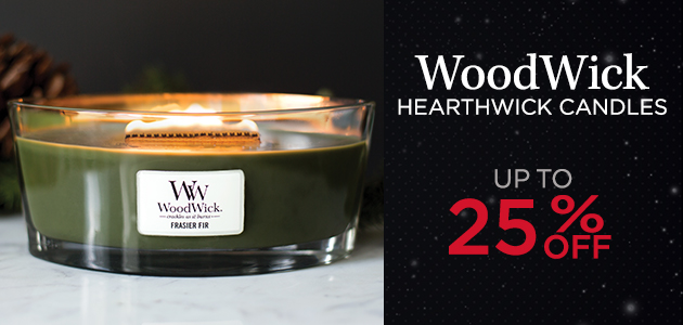 HearthWick Candles - Up to 25 Percent OFF