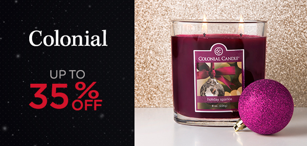 Colonial - Up to 35 Percent OFF