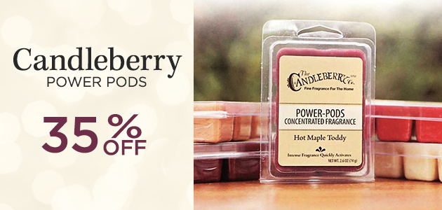 Candleberry Power Pods - 15 Percent OFF