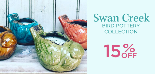 Swan Creek - Stoneware Coffee Cup Collection - 15 Percent OFF
