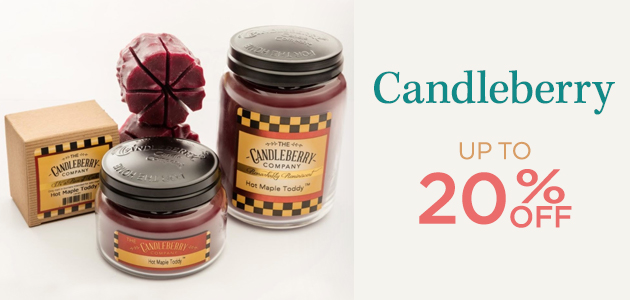 Candleberry - Up To 20 Percent OFF
