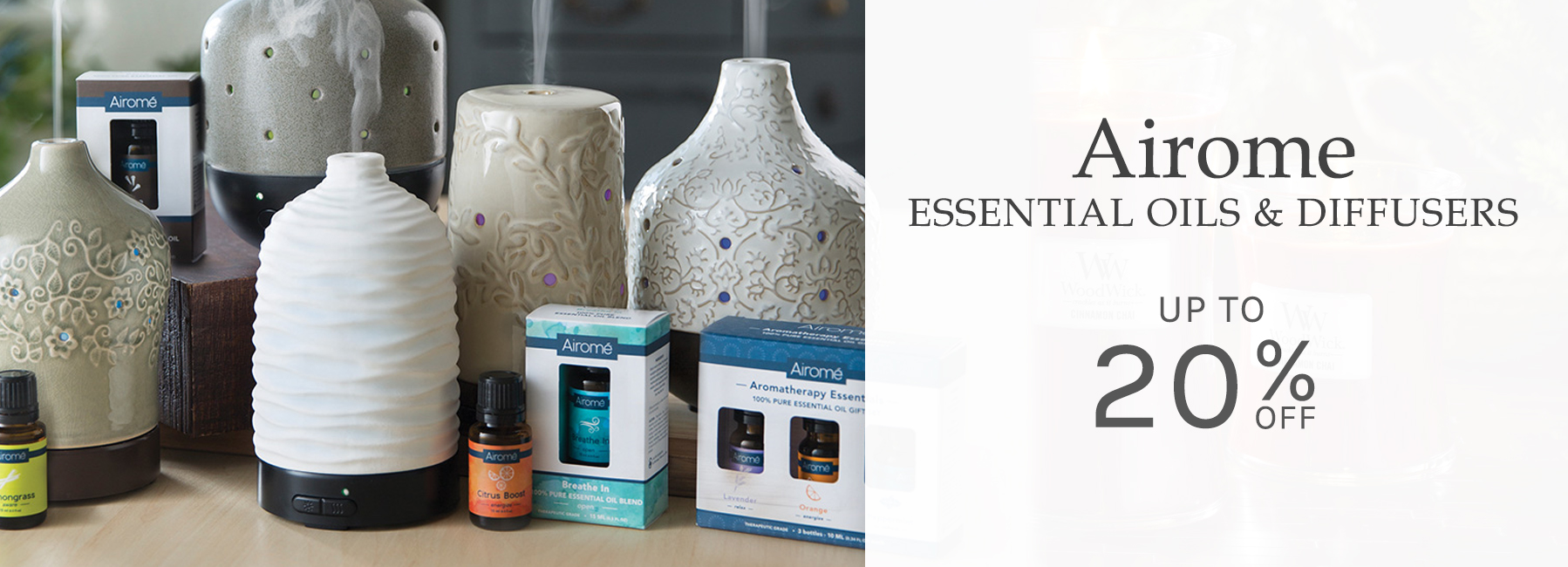Airome - Essential Oil Diffusers and Essential Oils - Up To 20 Percent OFF