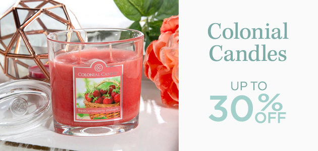 Colonial Candles - Up To 30 Percent OFF