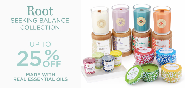 Root - Seeking Balance Collection - Up To 25 Percent OFF - Made with Real Essential Oils