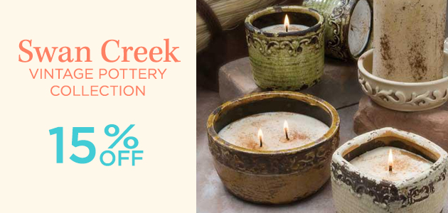 Swan Creek - Vintage Pottery Collection - 15 Percent OFF