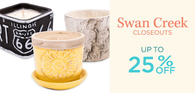 Swan Creek - Closeouts - Up To 25 Percent OFF