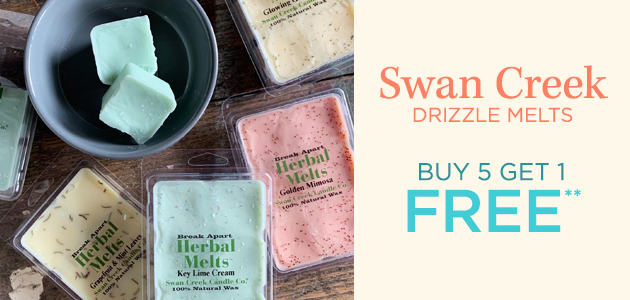 Swan Creek - Drizzle Melts - Buy 5 Get 1 FREE**