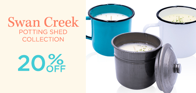 Swan Creek - Potting Shed Collection - 20 Percent OFF