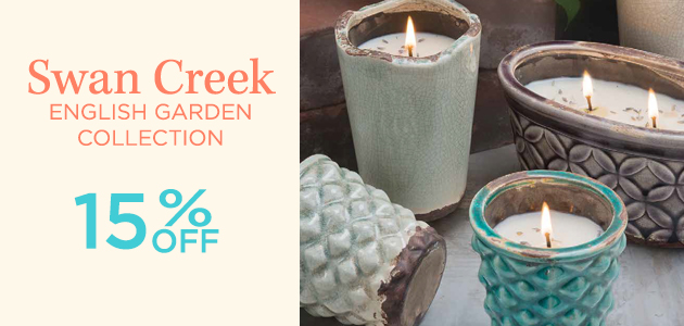 Swan Creek - English Garden Collection - 15 Percent OFF
