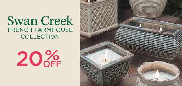 Swan Creek French Farmhouse Collection - 20 Percent OFF