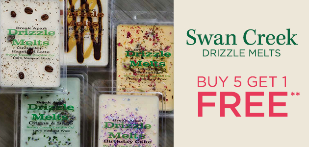 Swan Creek Drizzle Melts - Buy 5 Get 1 FREE