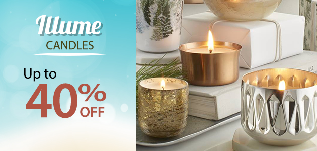 Illume Candles  Up to 40% OFF
