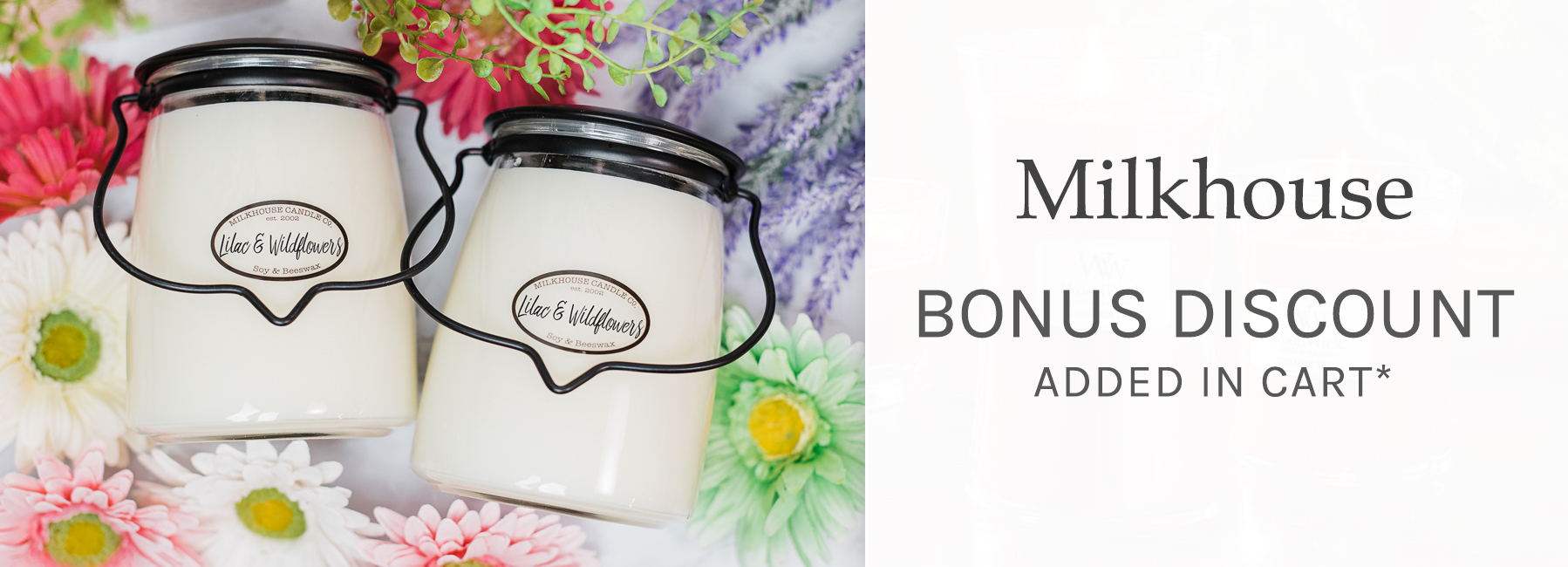 Milkhouse - Bonus Discount Added in Cart when you spend $50+